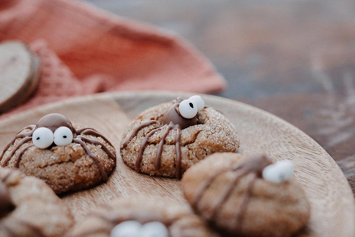 halloween-kekse lifesteilblog foodblog erdnussbutter