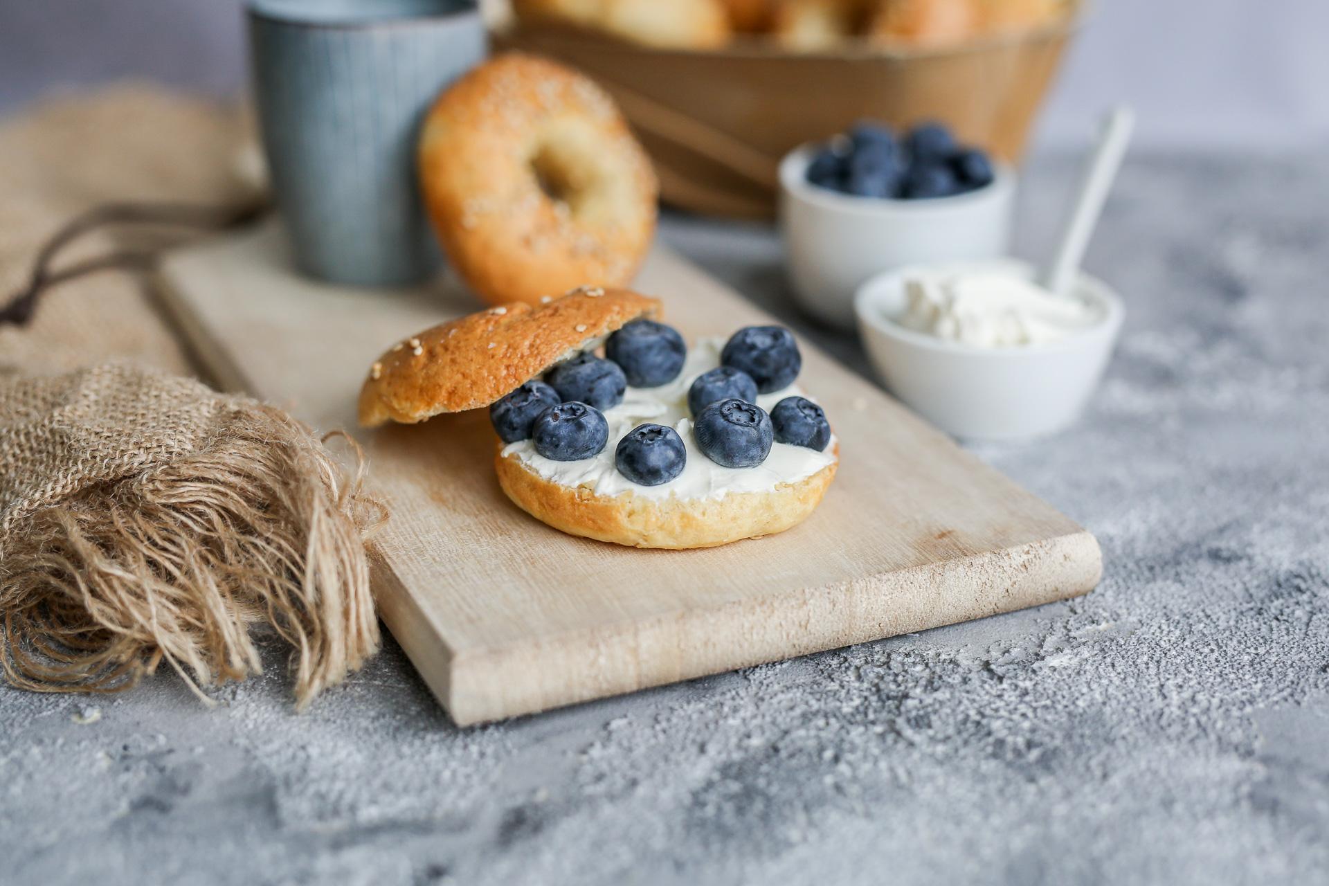 Glutenfreie Bagels | Basisrezept