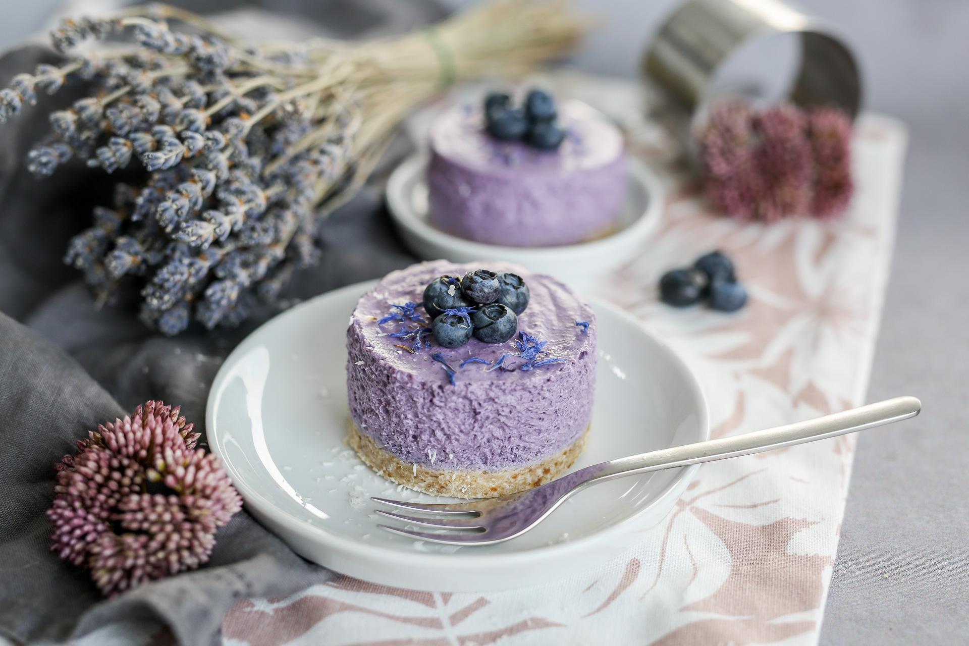 Blaubeer Mousse Torte